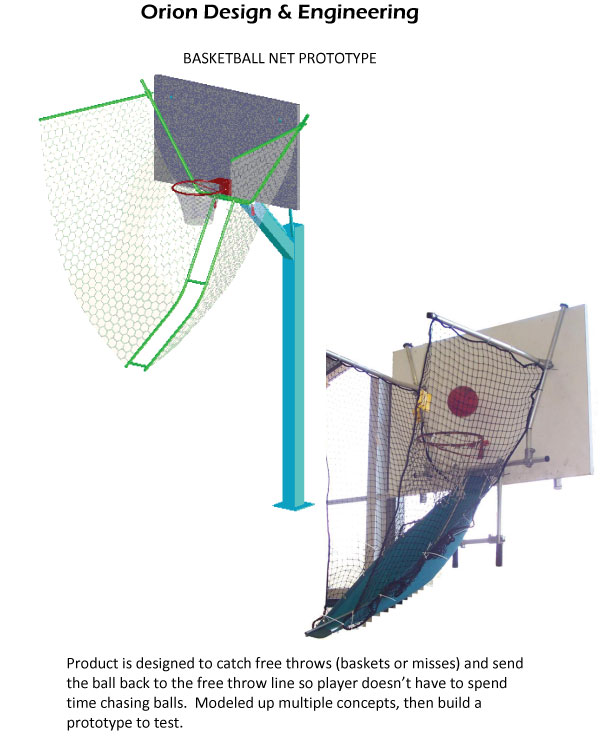 Basketball Net Prototype